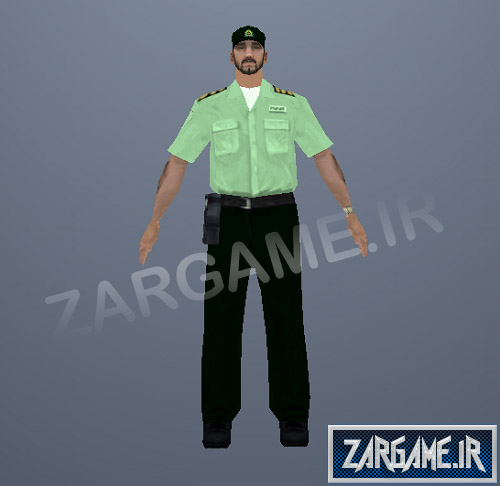 دانلود پلیس ایرانی برای بازی (GTA 5 (SanAndreas