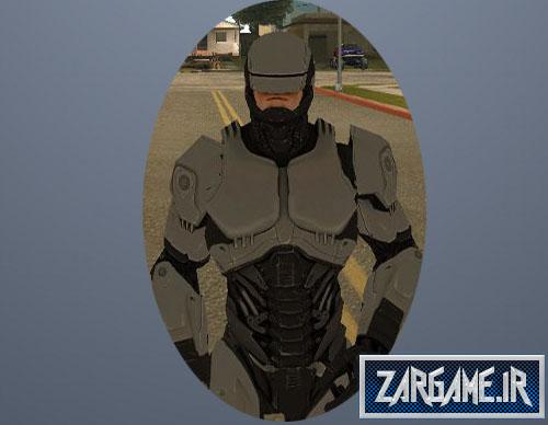 دانلود اسکین پلیس آهنی برای GTA 5