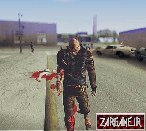 دانلود اسکین زامبی قاتل برای GTA 5
