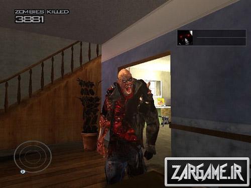 دانلود اسکین زامبی آدم کش برای GTA 5