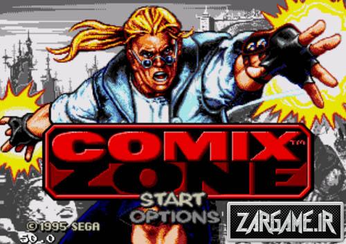 دانلود بازی Comix Zone برای کامپیوتر