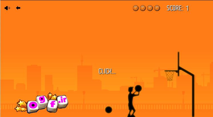 بازی بسکتبال انلاین