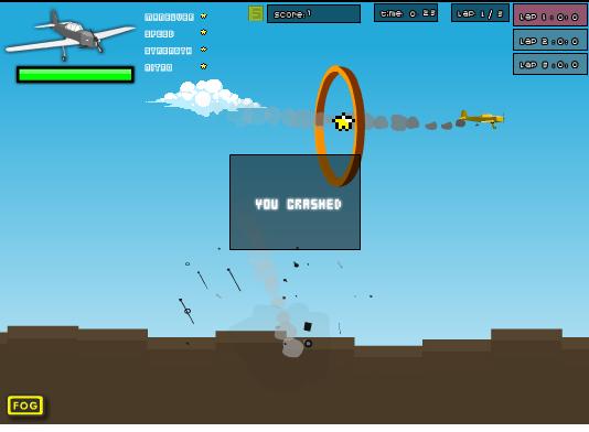 بازی انلاین هواپیما عبور از مانع