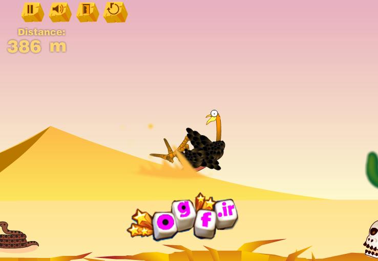 بازی پرتاب شتر و شترمرغ ومومیایی دراین بازی رکوردتو به صورت جهانی ثبت کن