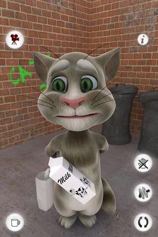 گربه سخنگو مخصوص اندروید