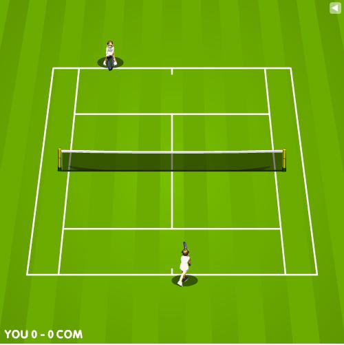 بازی تنیس انلاین