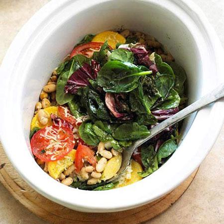 کسرول سبزیجات ( غذای گیاهخواران )