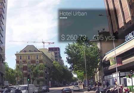 نخستین عینک مخصوص توریستها برای پیدا کردن هتل+تصاویر
