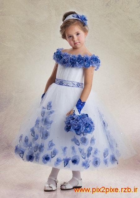 عکسهای جدیدترین مدل های لباس مجلسی کودکانه
