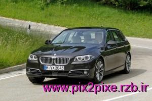 عکس های بی ام و BMW 5 Series Touring 2014