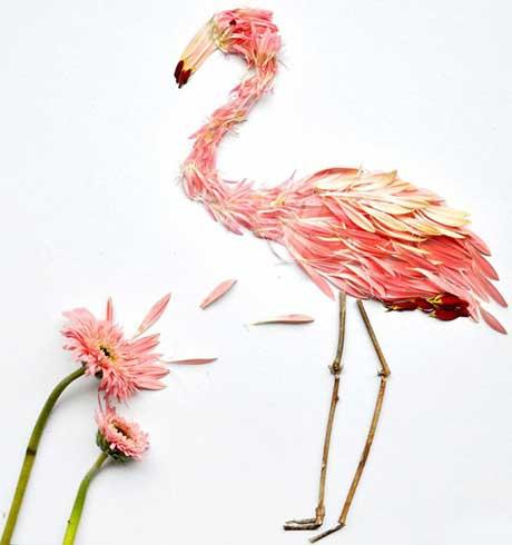 هنرنمایی با گلبرگ