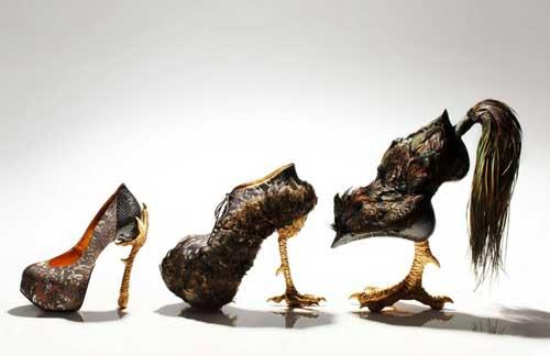 کفش هاي طراحي شده توسط طراح ژاپني