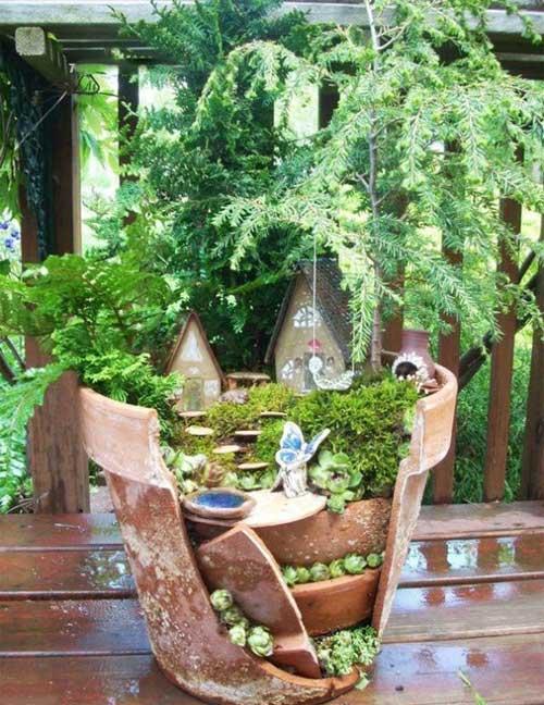 باغ هاي مينياتوري درون گلدان