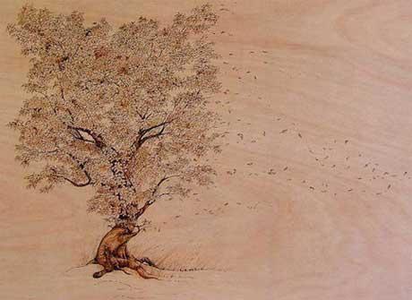 نقاشی با لحیم