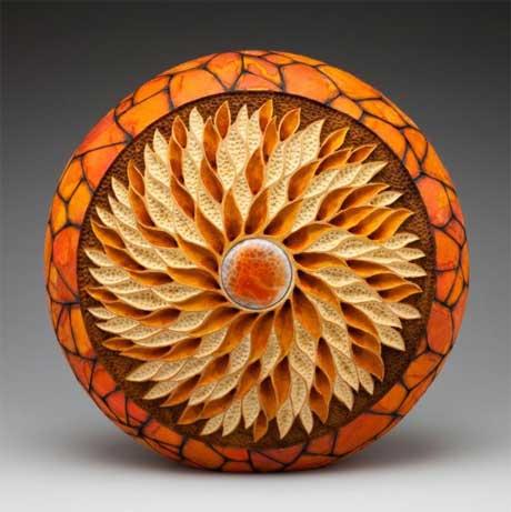 آثار هنري با استفاده از چوب
