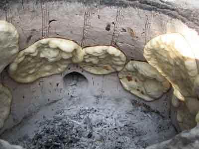 روش پخت نان در روستا