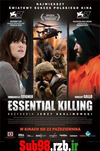 دانلود زیرنویس فارسی فیلم Essential Killing