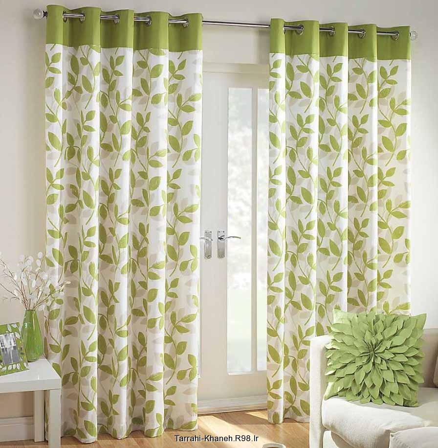 green living room curtains http rozup ir up tarrahi khaneh pictures curtain designs 14491