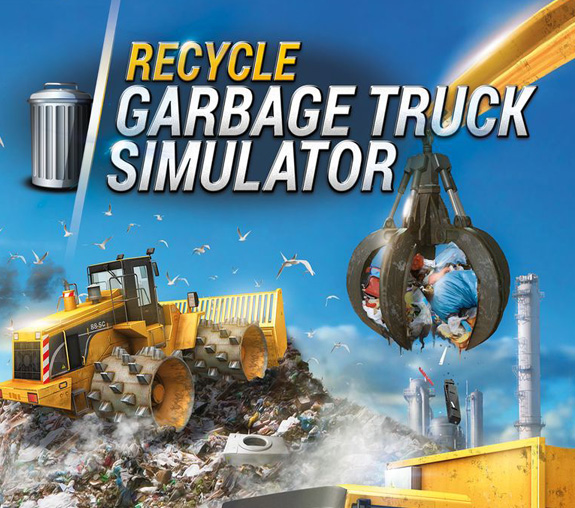ترینر بازی Recycle Garbage Truck Simulator V1.00 Trainer +1 MrAntiFun