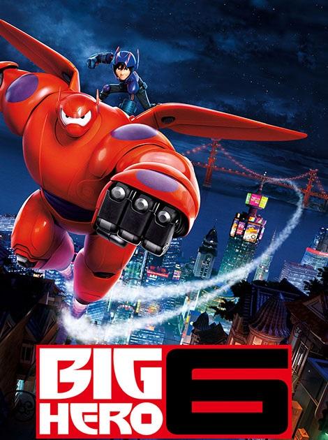 دانلود انیمیشن شش قهرمان بزرگ Big Hero 6 2014 با لینک مستقیم