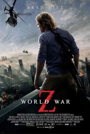 دانلود فیلم World War Z 2013 با کیفیت ۷۲۰p
