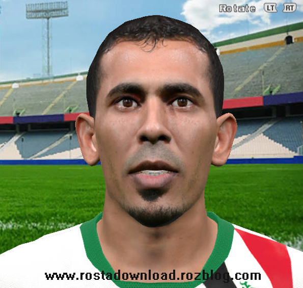 دانلود فیس  یونس محمود کاپیتان تیم ملی عراق برای PES 2016