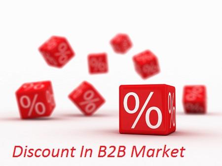 خطر ارائه تخفیف فروش در بازار B2B