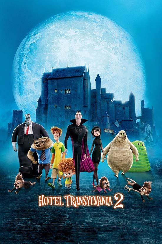 دانلود دوبله فارسی انیمیشن هتل ترانسیلوانیا 2 Hotel Transylvania 2 2015