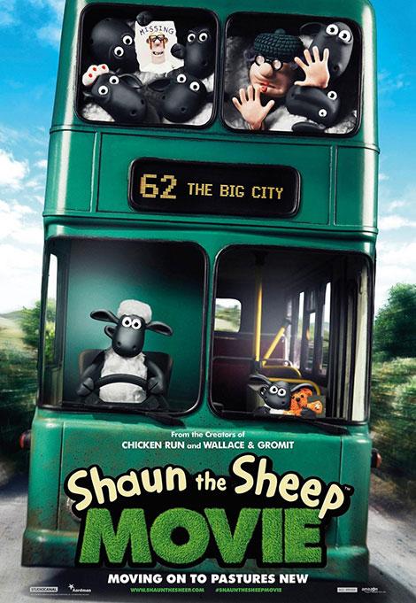 دانلود انیمیشن جدید و زیبای گوسفند ناقلا Shaun the Sheep Movie 2015