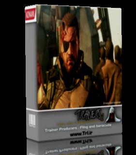دو ترینر بازی Metal gear solid V : The Phantom Pain 1.07