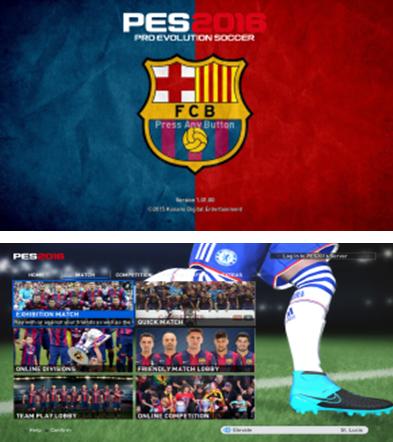 دانلود منوی گرافیکی بارسلونا برای pes 2016