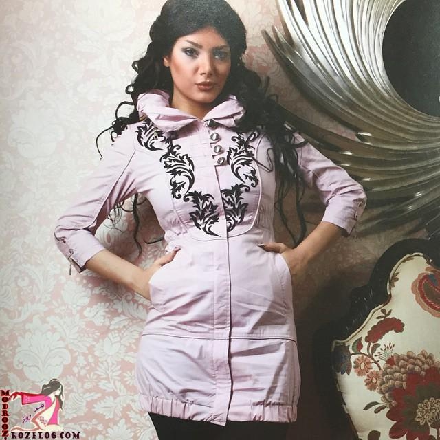 مدل مانتو اسپرت دخترانه