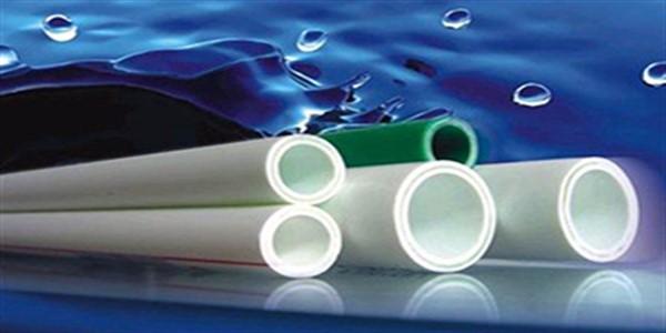 لوله های پلاستیکی سفید پلی پروپیلن