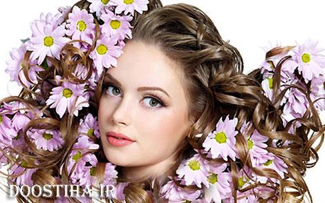 پرپُشت کردن موهای سر با گیاهانی دارویی مفید