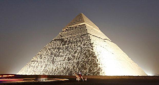 مشاهده لکه های حرارتی اسرار آمیز در دیوارهای اهرام مصر