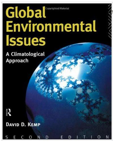 کتاب مسائل جهانی محیط زیست