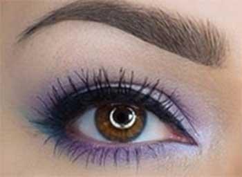 آموزش آرایش مژه چشم و سایه چشم مجلسی 2016 عید نوروز 95