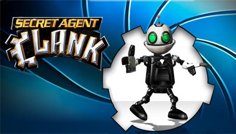 بازی بسیا زیبای Secret Agent Clank برای PSP