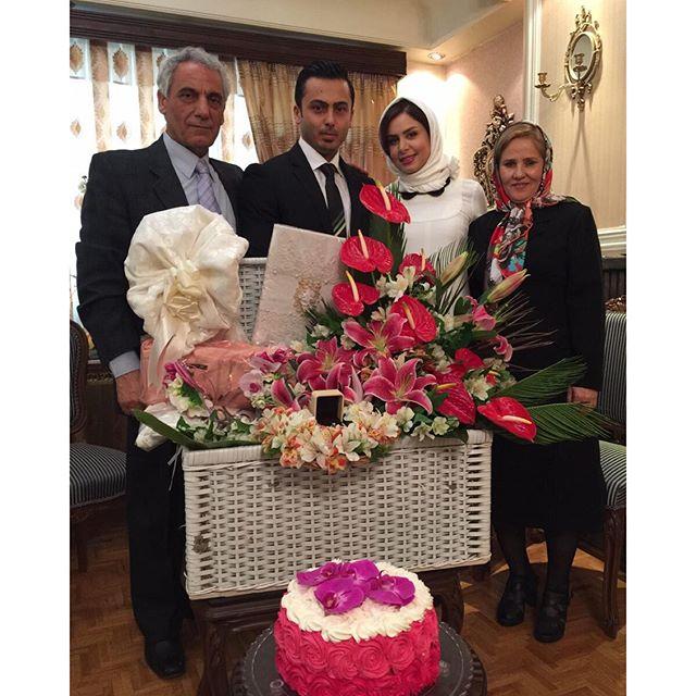 مجری زن معروف تلویزیون ، ازدواج کرد + عکس