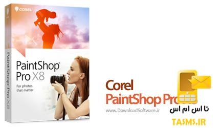دانلود برنامه ویرایش حرفه ای تصاویر Corel PaintShop Pro X8 v18.1.0.67 + UltimatePack