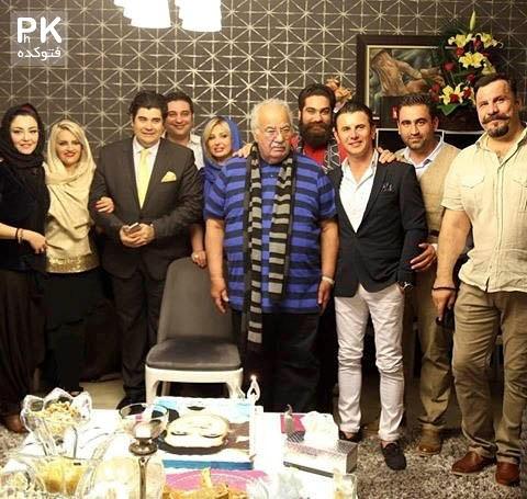 جشن تولد ناصر ملک مطیعی + تصاویر