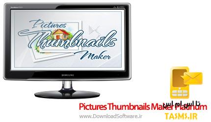 دانلود Pictures Thumbnails Maker Platinum 2.8.0.3 نرم افزار کلاژ عکس ها