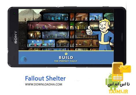 دانلود بازی پناهگاه رادیواکتیو Fallout Shelter 1.5 برای اندروید