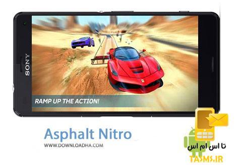 دانلود بازی مهیج آسفالت نیترو Asphalt Nitro 1.3.1c برای اندروید