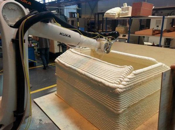 ساخت خانه های اضطراری در ۳۰ دقيقه با پرينتر سه بعدی