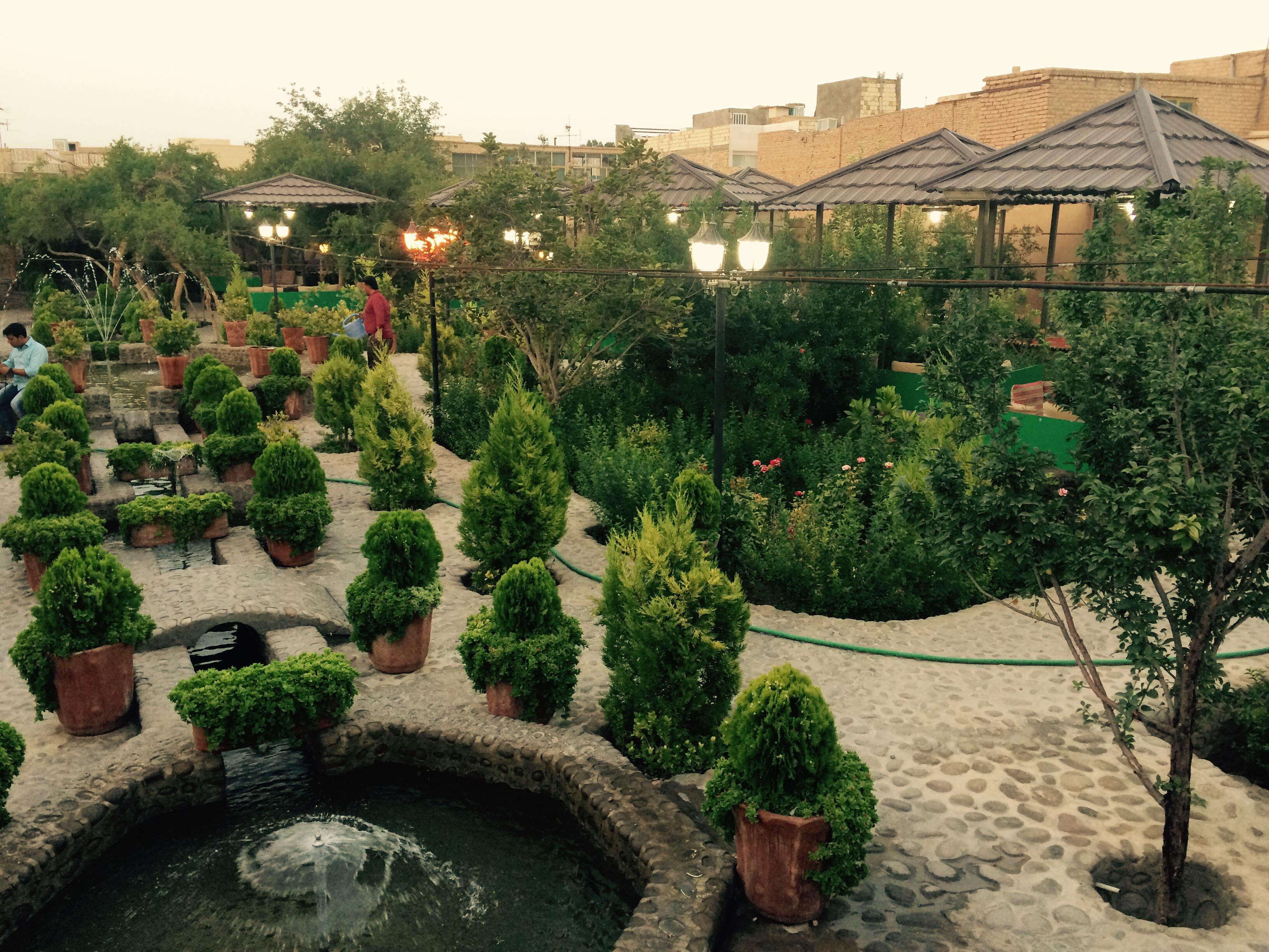 رستوران باغ شانار | استان یزد