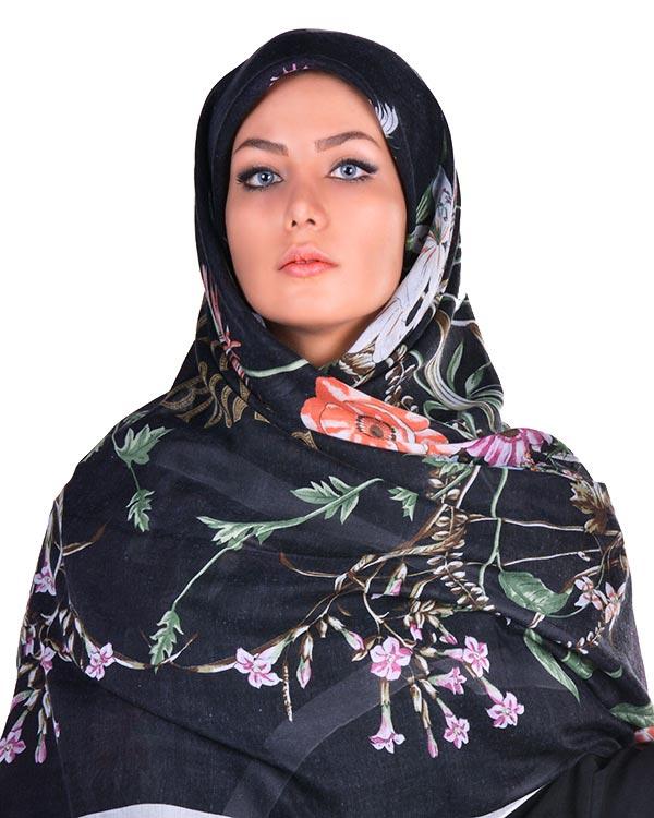خرید اینترنتی «روسري زنانه نخي» مدل 5017