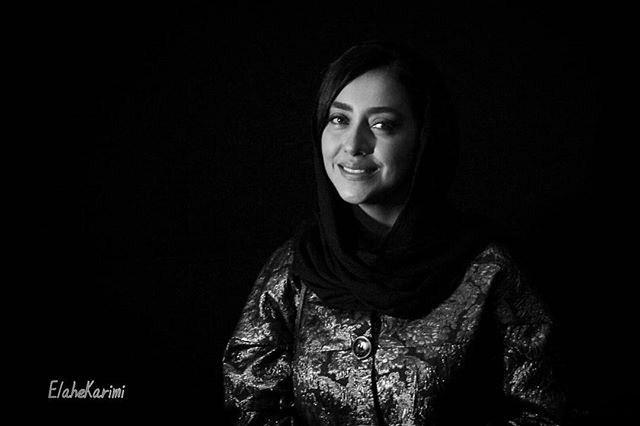 عکس بهاره کیان افشار در اکران خیریه فیلم بارکد