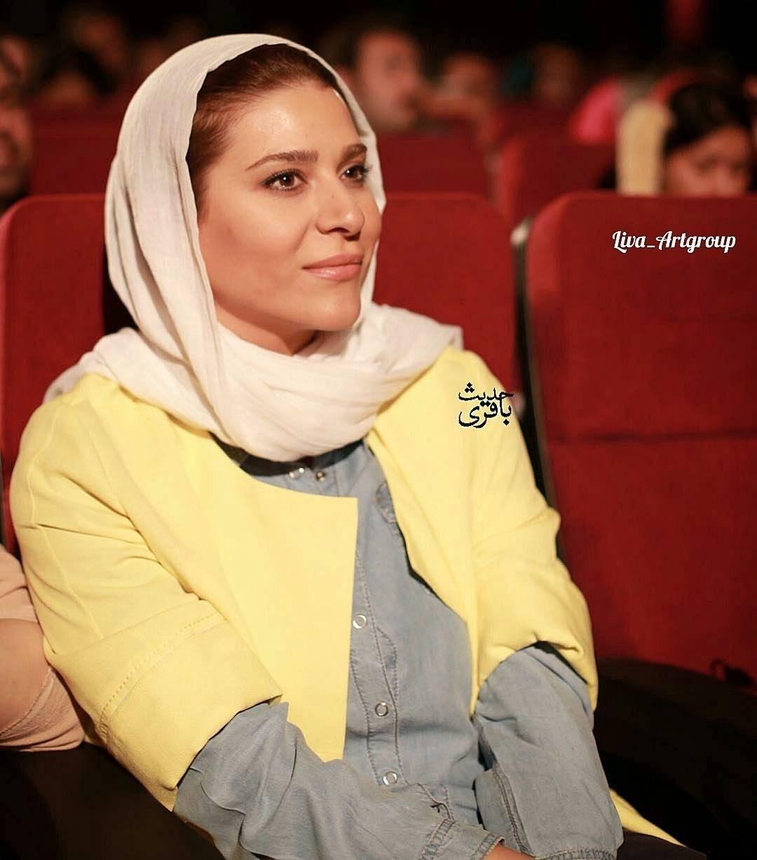 عکس سحر دولتشاهی در نشست خبری فیلم دونده زمین