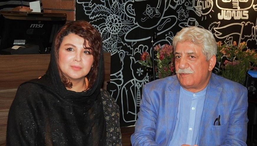 عکس شهره سلطانی در دورهمی هنرمندان در کافه هال